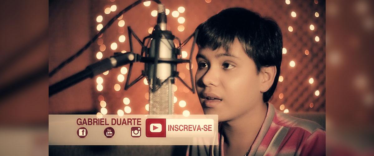 Luan Santana Escreve aí | Gabriel Duarte cover